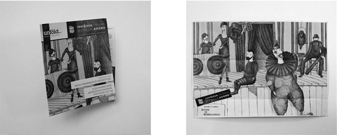 vangogh museum unfold poster illustration ninna