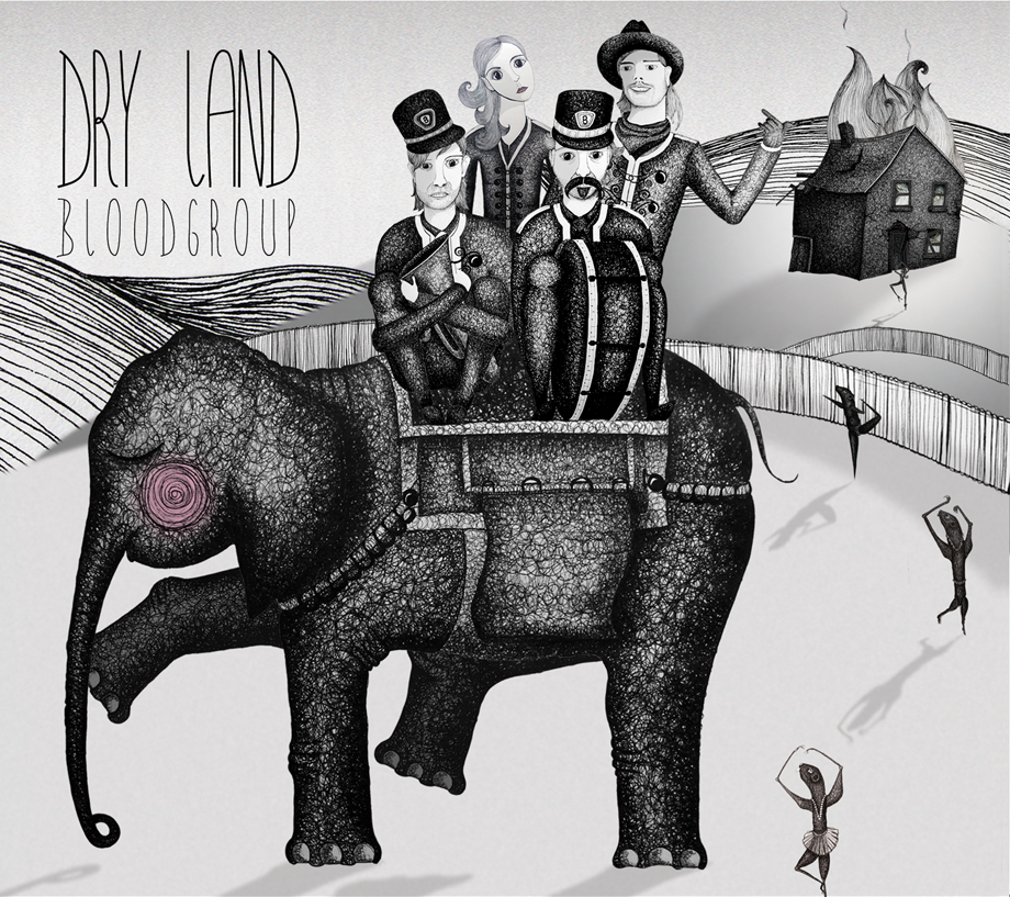 Bloodgroup - Dry Land illustration albumcover