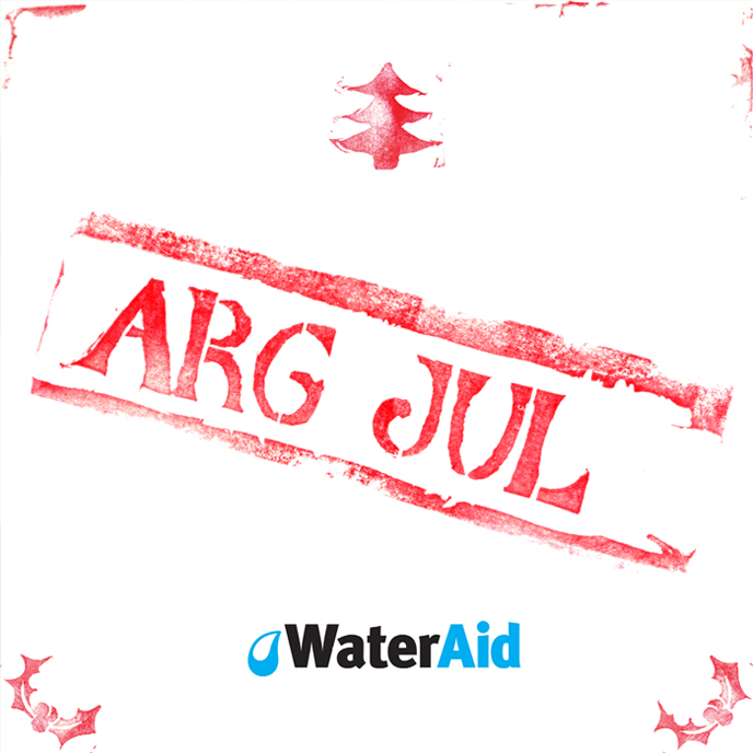 Arg Jul, graphic design, christmas campaign for Water Aid