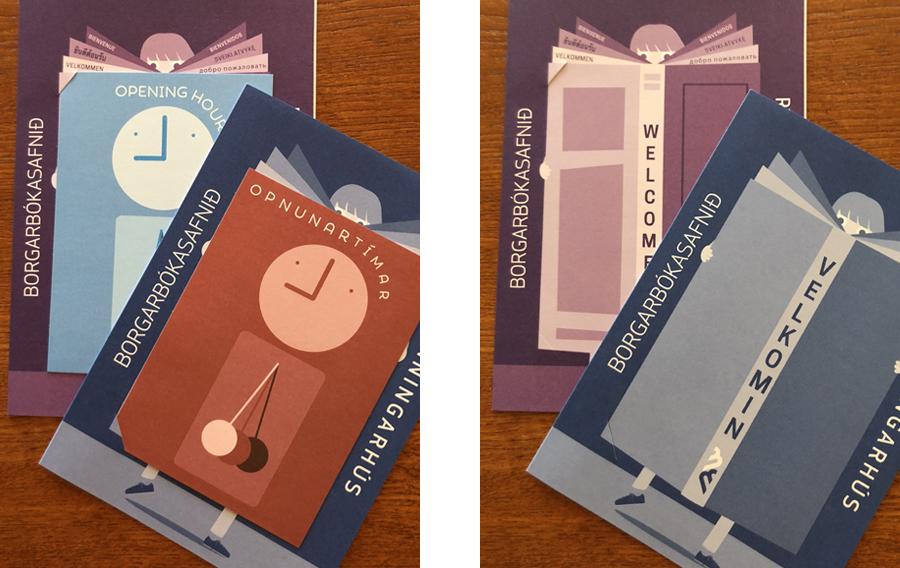brochure graphic design uppsetning  grafísk hönnun freelance designer