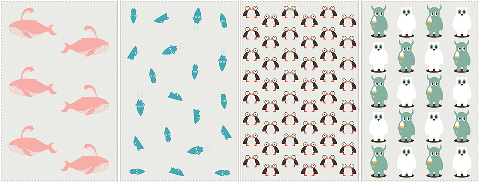 Icd, pattern, ninna, illustration