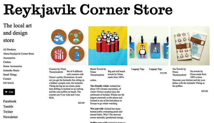 webshop, souvenirs, Icelandic, design