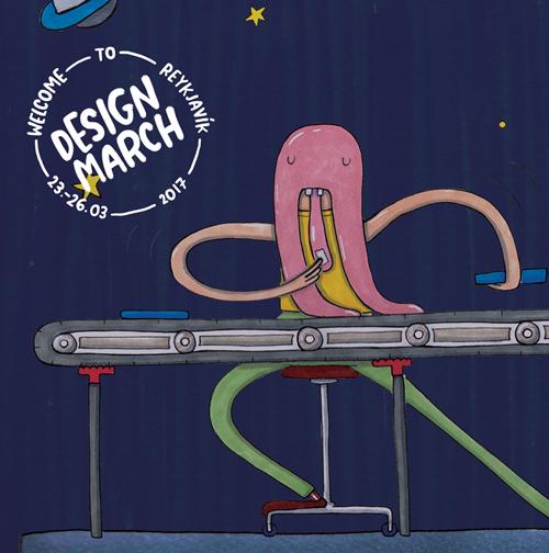 designmarch_ninna_alien_iceland_thorarinsdottir, poster, exhibition, iceland, Hafnarhúsið, ListasafnReykjavíkur