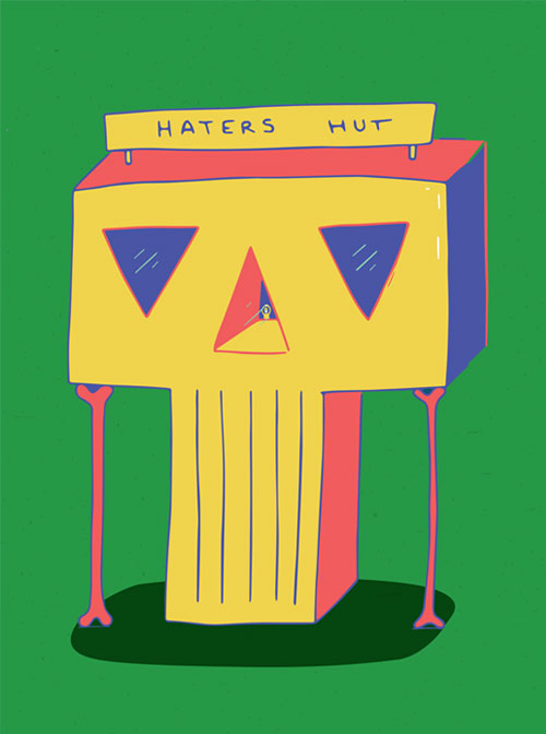 BetterReykjavik, posterexhibition, iclelandicillustrators, homy, illustration, hatershut