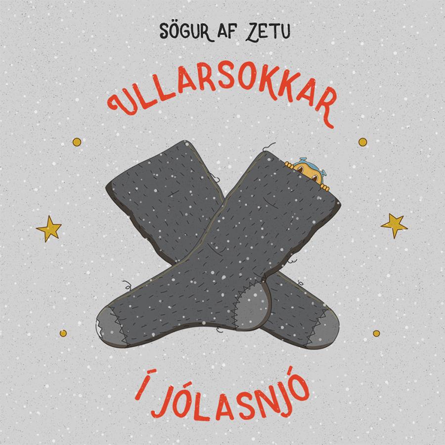 zeta, characterdesign, ullarsokkar, poster, illustration, icelandic, wollensocks