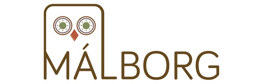 logo, graphicdesign, grafísk hönnun, firmamerki, málborg, freelance graphic designer