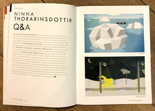 NQ interview with icelandic designer and illustrator ninna thorarinsdottir